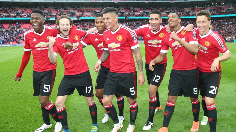 Manchester United are aiming to secure a top four place and win the FA Cup