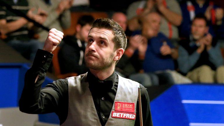 Mark Selby beat Marco Fu to reach the World Championship finals