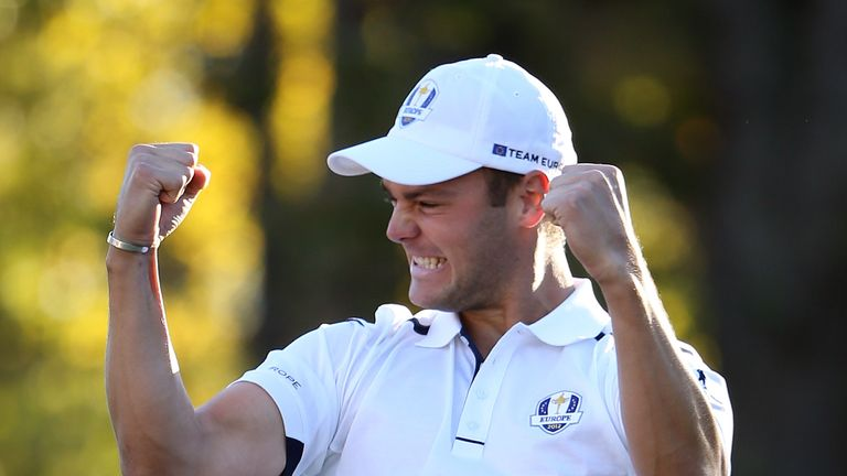 Martin Kaymer refused to bow to the pressure on the final green
