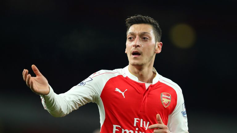 Mesut Ozil was a shock £41.5m signing from Real Madrid in 2013