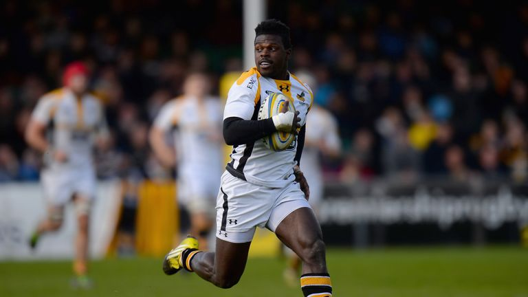 Christian Wade's 6 tries in one match equalled a 16 year-old Premiership record