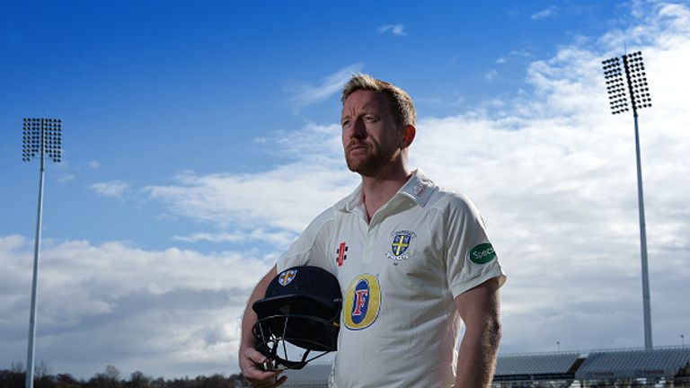 Captain Paul Collingwood is a three-time Ashes winner