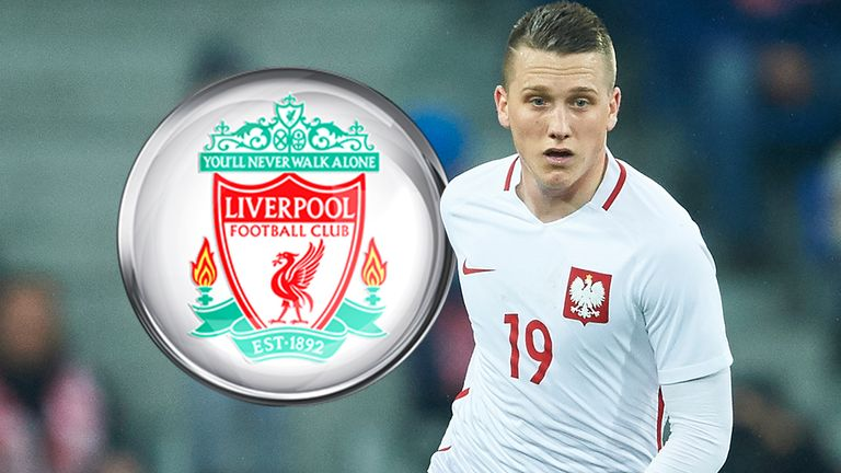 Udinese midfielder Piotr Zielinski has been linked with a move to Liverpool next season