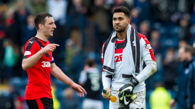 Rangers keeper Wes Foderingham (right) is concerned by the number of goals his team have conceded recently