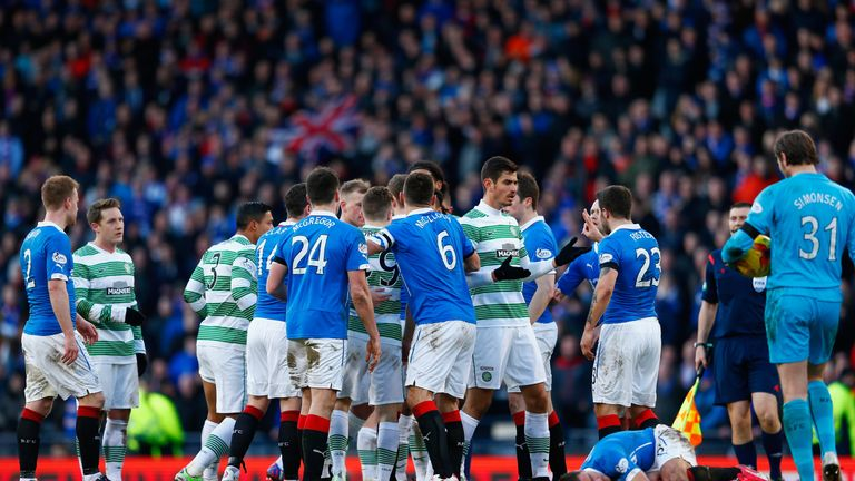 Celtic and Rangers meet in the top flight of Scottish football for the first time in four years