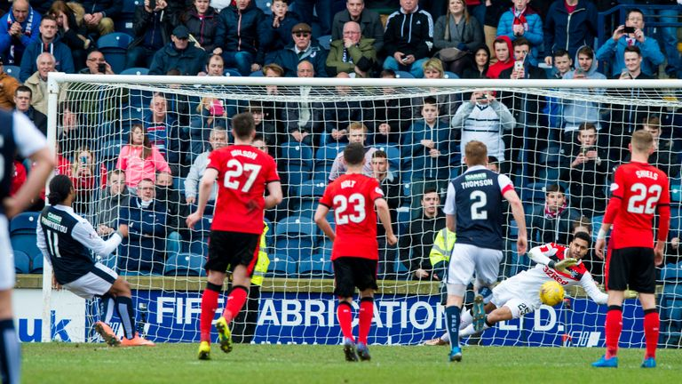 Foderingham saved a penalty from Harry Panayiotou but it wasn't enough for Rangers to win the title at the weekend