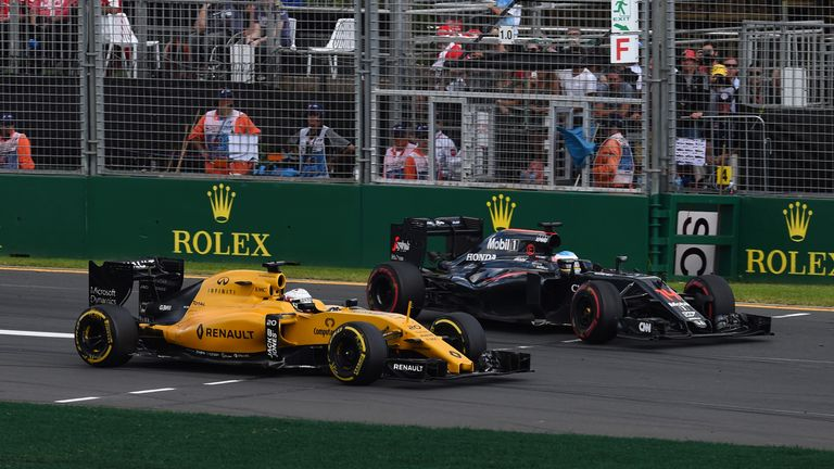 Renault and McLaren battled on track in Australia, but McLaren found themselves in the top three on Friday in Bahrain