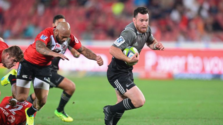 Ryan Crotty bagged a hat-trick in Johannesburg