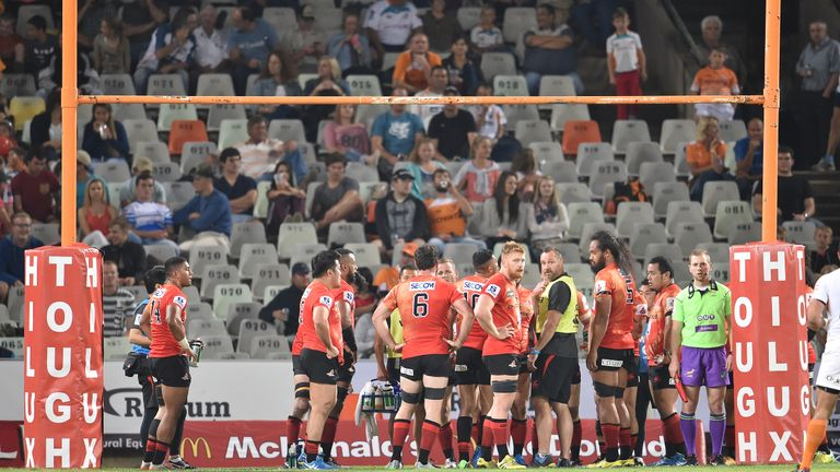 The Sunwolves shipped 92 points in their defeat at the Cheetahs