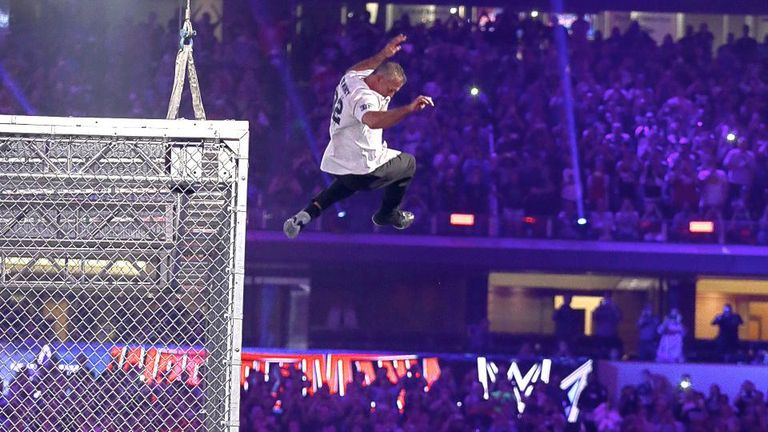 Shane McMahon's leap from Hell in a Cell proved costly