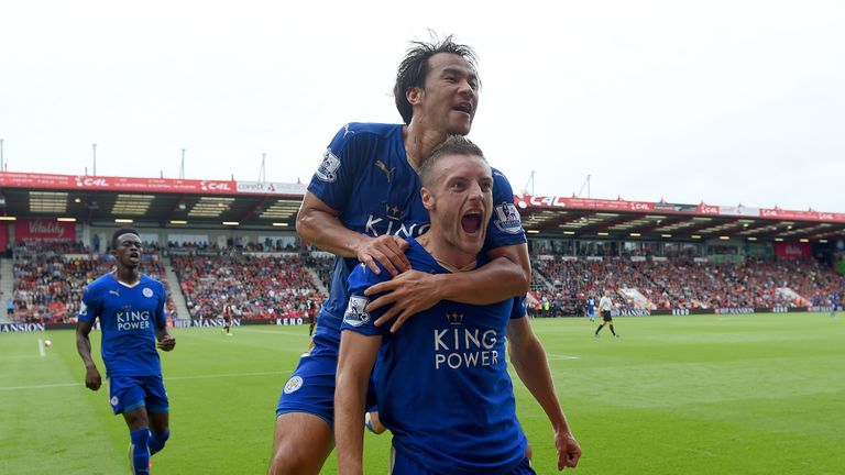Vardy has risen from non-league to the top of the Premier League