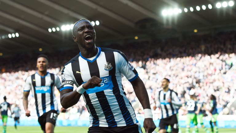Moussa Sissoko joined Newcastle from Toulouse in January 2013