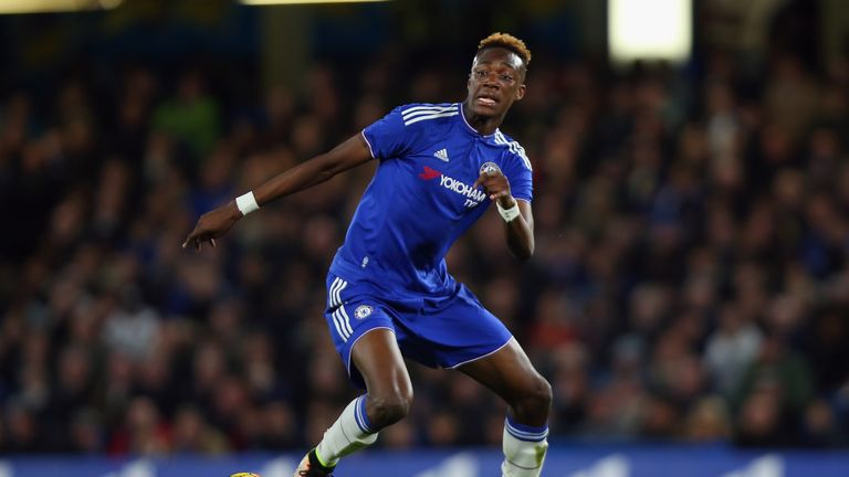 Tammy Abraham has made two substitute appearances for Chelsea