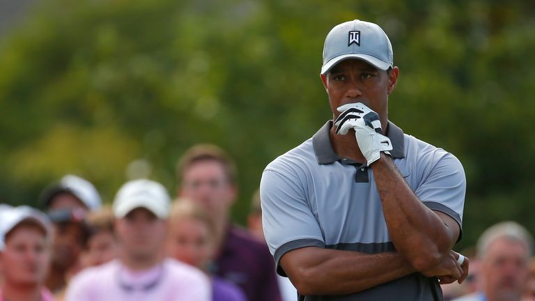 Tiger Woods has fallen to 12th after winning a relatively paltry $274,000 in prize money in the last year