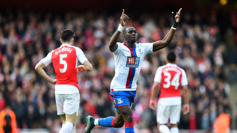 Everton are aiming to complete a deal to sign Yannick Bolasie from Crystal Palace