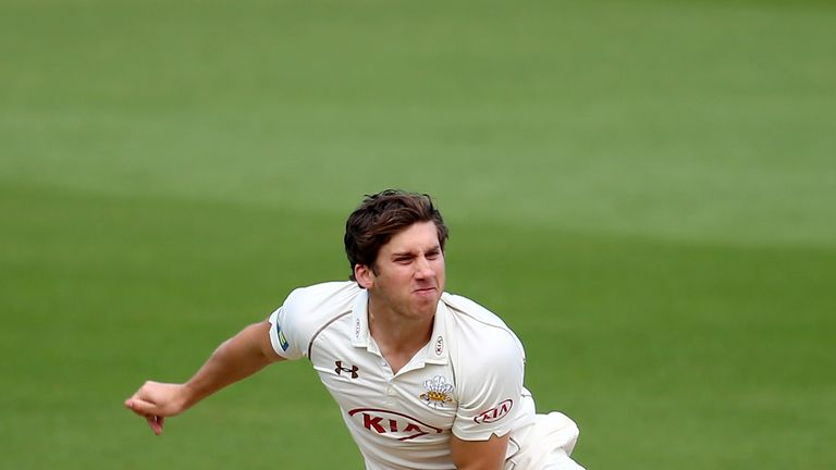 Zafar Ansari missed out on England's tour of UAE last year because of injury
