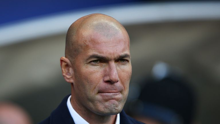 Zinedine Zidane has admitted his side need to improve in all areas as they try to end a run of four games without a win at Betis
