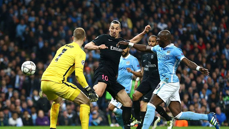 PSG were knocked out of the Champions League by Manchester City last week