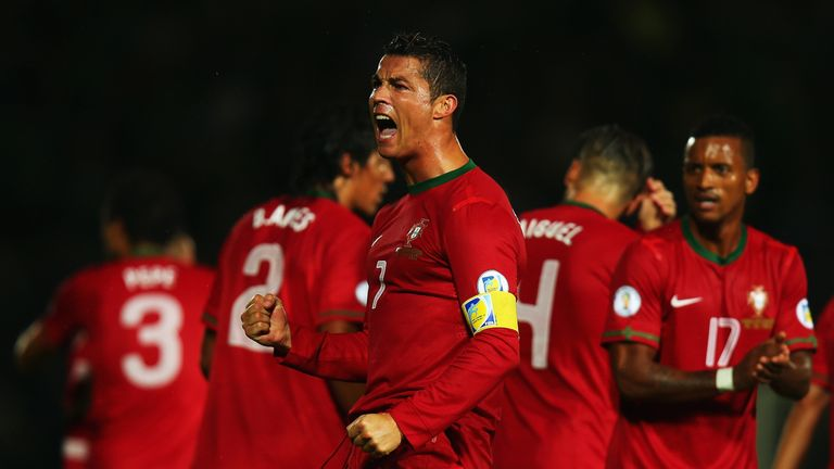 Cristiano Ronaldo will be eyeing goals for Portugal in France this summer