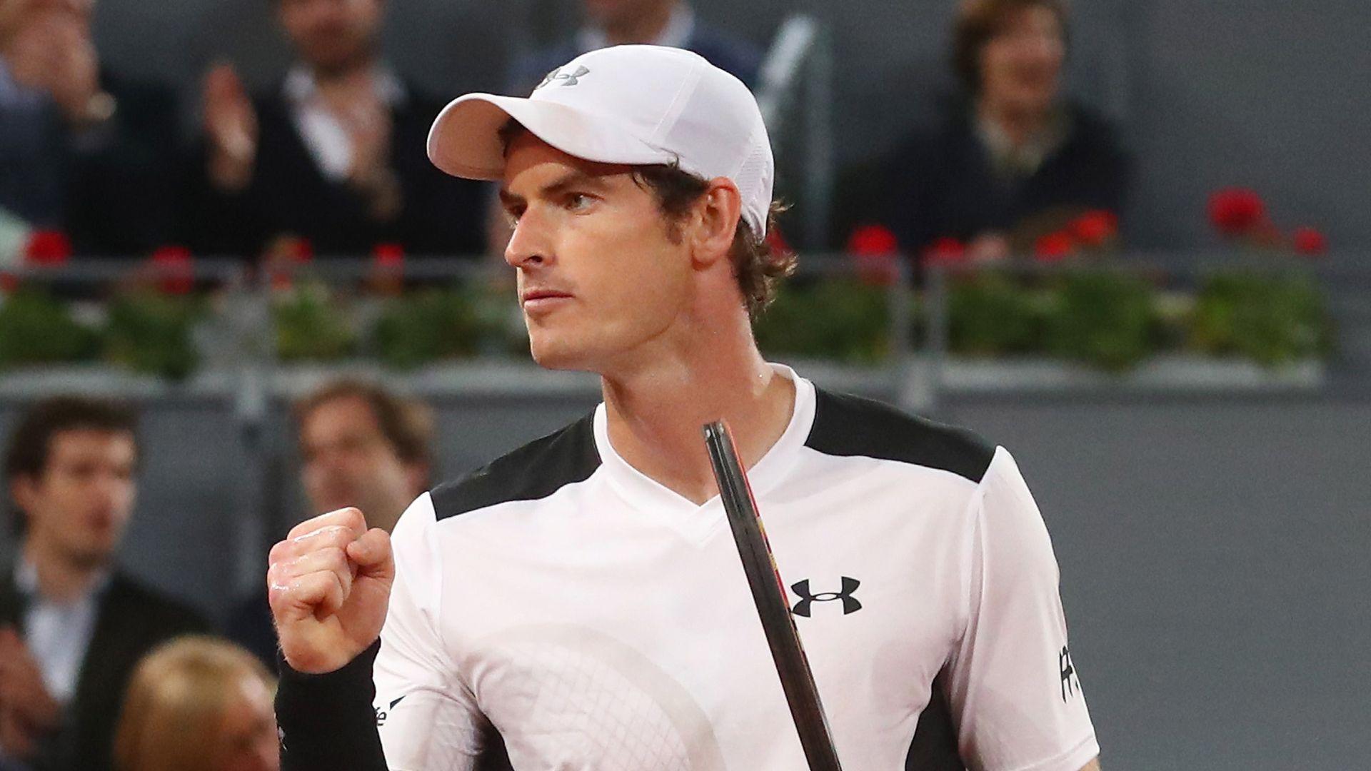 Murray wins opener at virtual Madrid Open