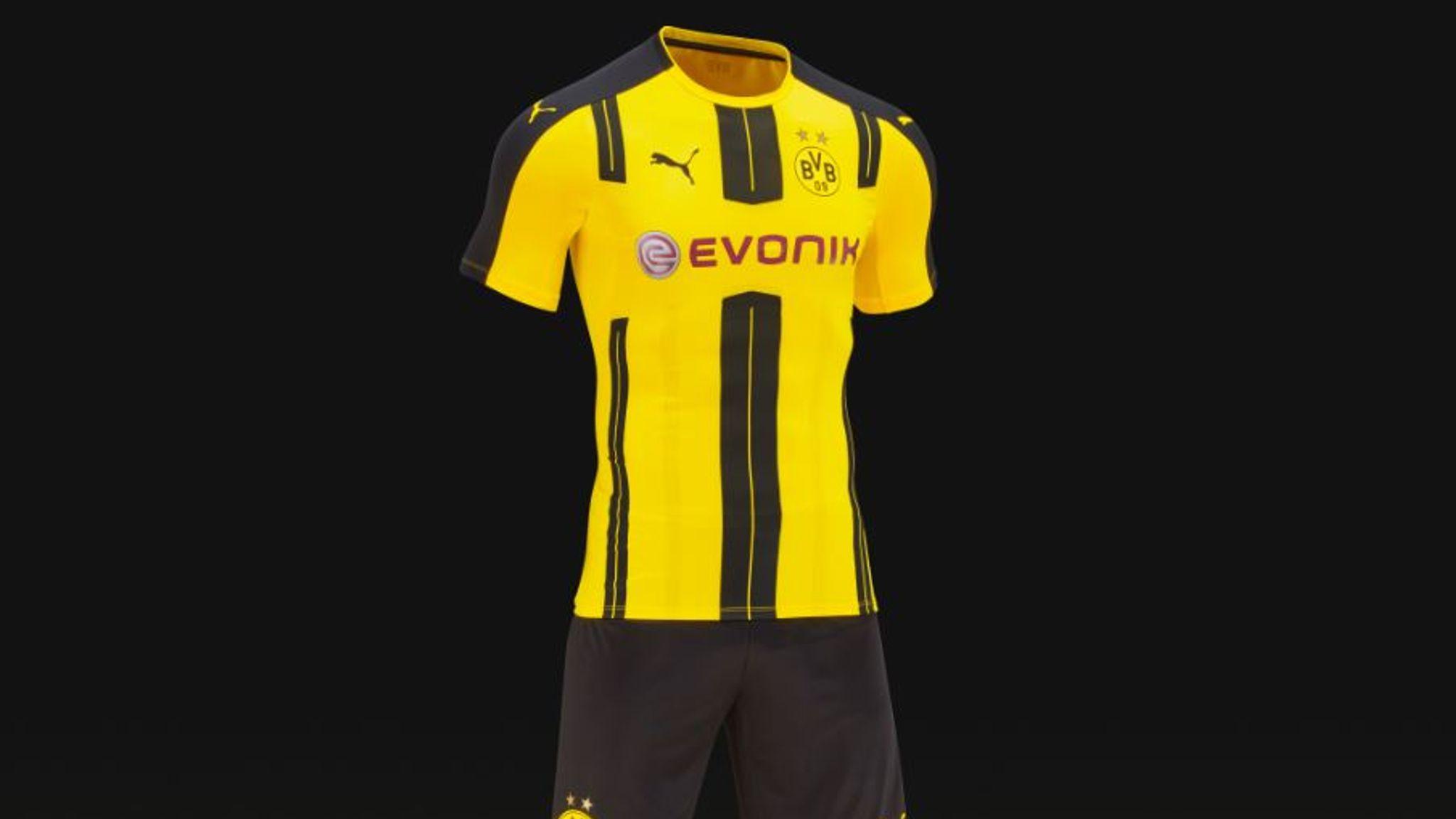 best service 87844 e3a60 New football kits 2016/17: Bayern Munich, Juventus, Borussia ...