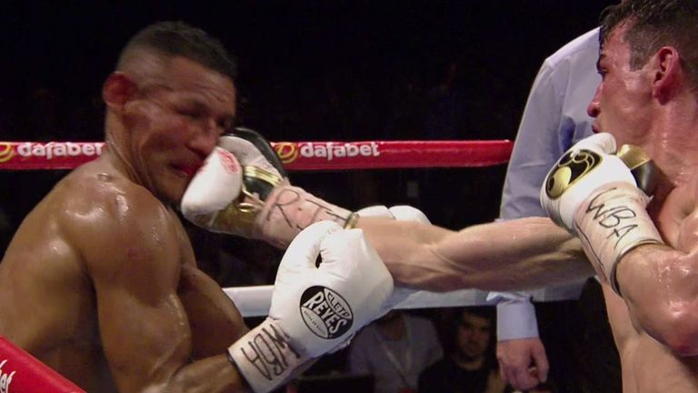 Crolla started to dominate the fight after four rounds