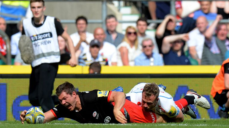 Alex Goode capped off an impressive season with a man-of-the-match display at Twickenham