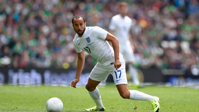Andros Townsend has been called up to the England squad