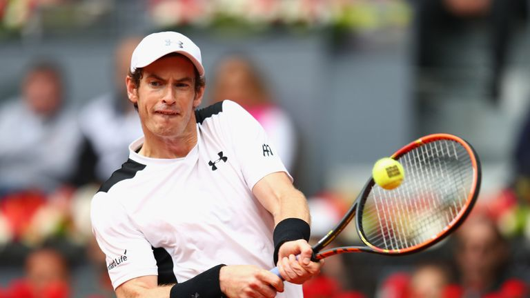 Murray recorded back-to-back wins over Nadal in the Spanish capital