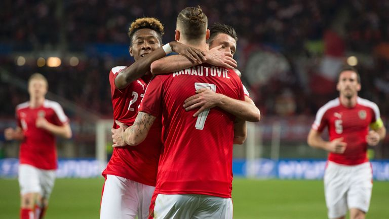David Alaba and Marko Arnautovic will feature prominently at Euro 2016