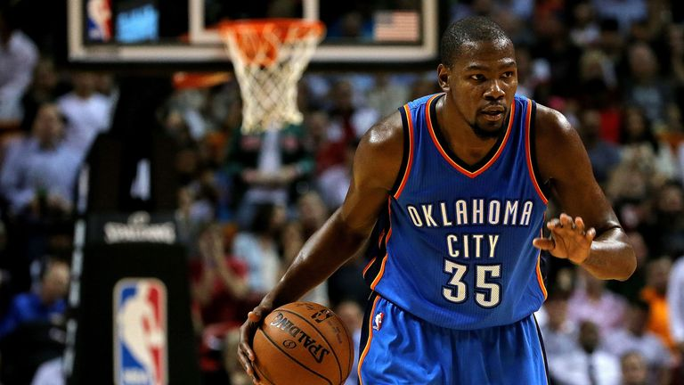 Kevin Durant will play for the Golden State Warriors next season