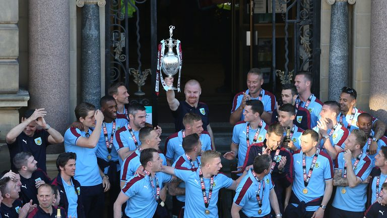 Burnley's promotion prompted an influx of outright betting on the Clarets