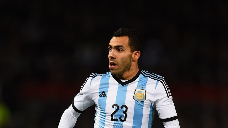 Carlos Tevez has won 76 caps for Argentina but will not be a part of their Copa America Centenario squad