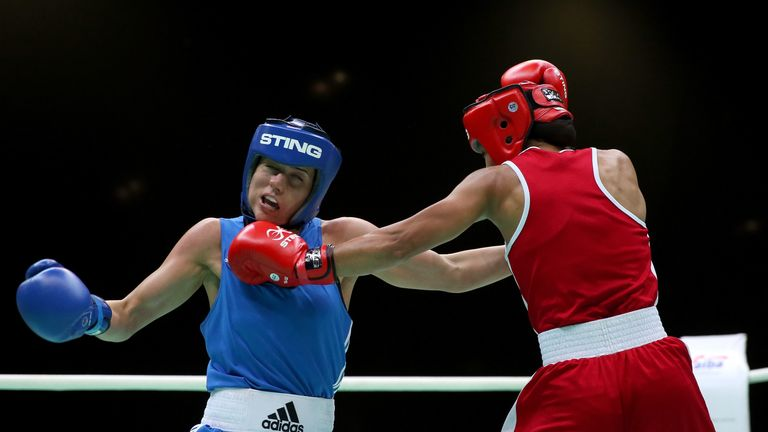 Chantelle Cameron (left) failed to secure the semi-final finish she needed