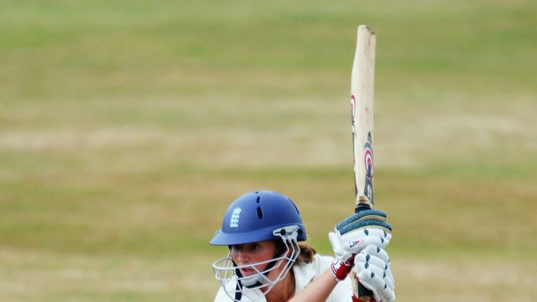 Charlotte Edwards got off to a fine start in her international career