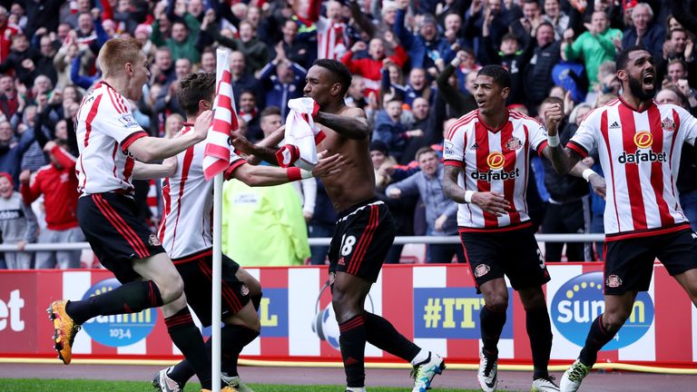 Jermain Defoe scored the winner in the 3-2 victory over Chelsea