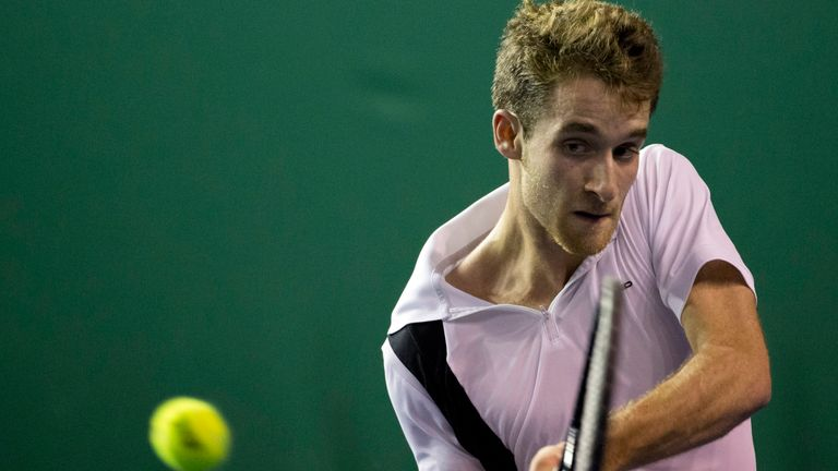 Constant Lestienne has had his French Open wildcard withdrawn