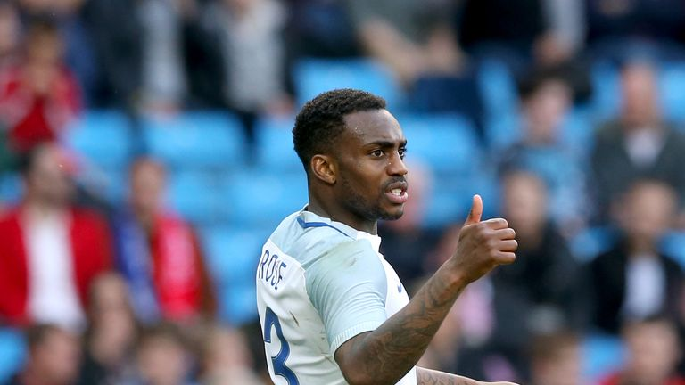 Danny Rose earned an eight from Hinchcliffe for his Wembley performance