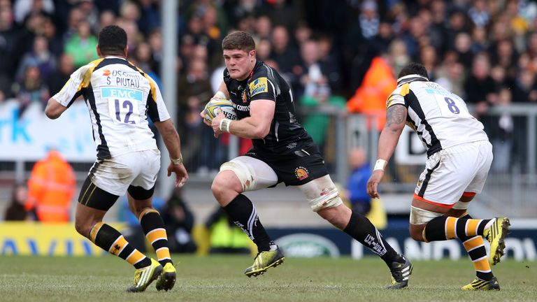 Dave Ewers caught the eye as Exeter Chiefs put in a impressive performance against Wasps