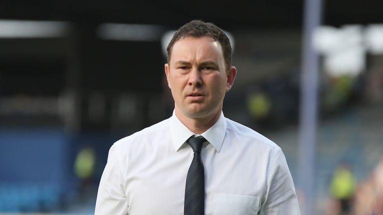 Derek Adams has taken a striker on loan
