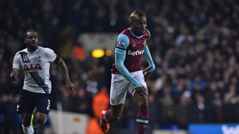 Diafra Sakho's West Ham future is in doubt