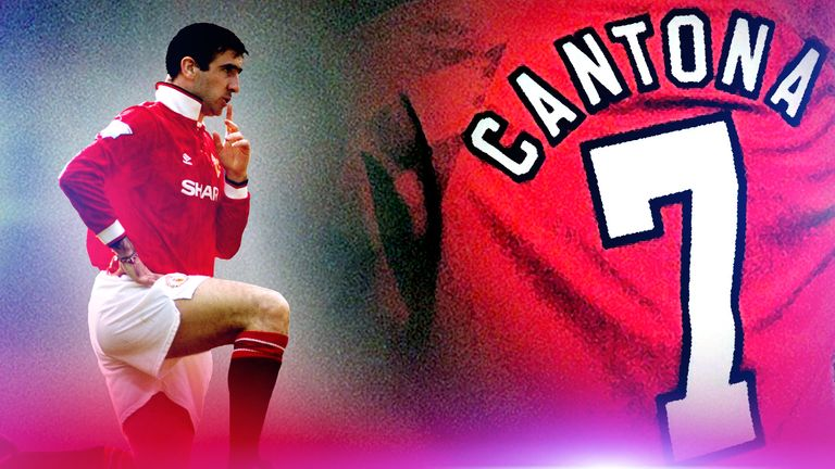 Cantona was an iconic figure at Manchester United and was nicknamed 'The King' by the fans