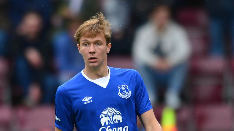 Kieran Dowell is committed to Everton until the summer of 2019