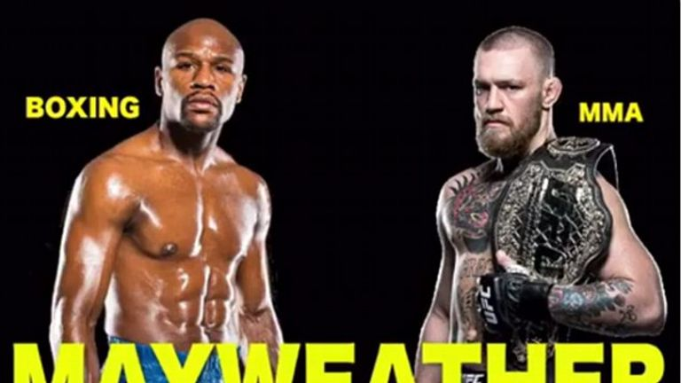 Floyd Mayweather uploaded a photo teasing at a fight between himself and Conor McGregor; Credit: Instagram/FloydMayweather