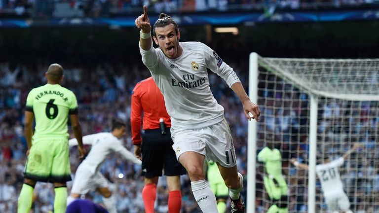 Bale scored the clinching goal for Real against Manchester City in last month's semi-final