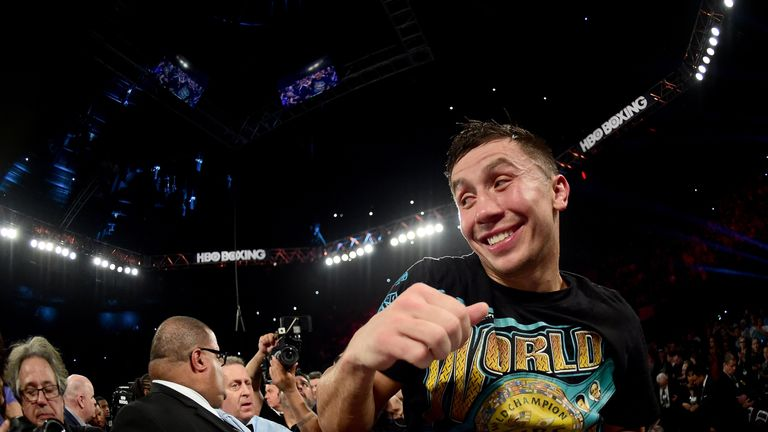 Gennady Golovkin is determined to book a unification fight