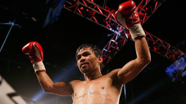 Manny Pacquiao announced his retirement after beating Timothy Bradley