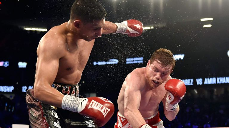 Khan suffered a devastating knockout defeat to Saul 'Canelo' Alvarez last time out