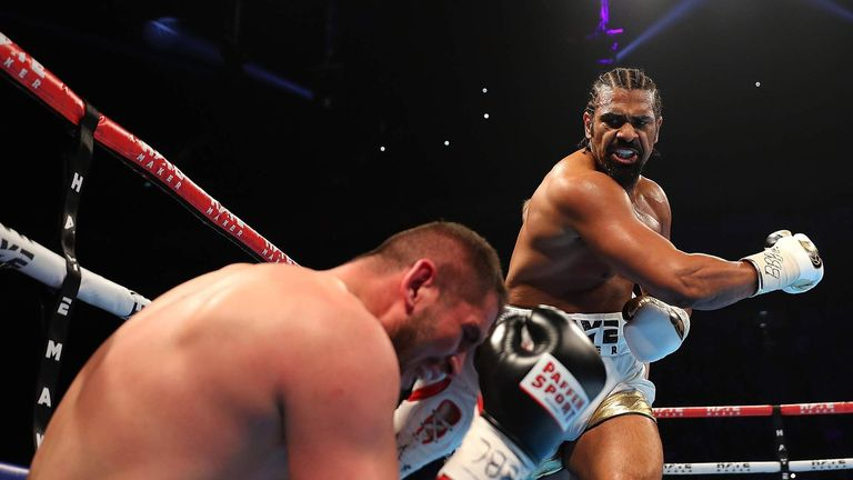 Haye has dispatched his two comeback foes quickly