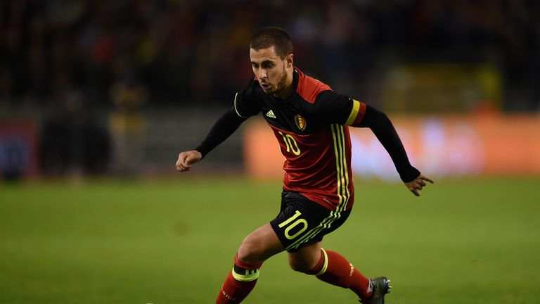 Eden Hazard will hope to have an impressive tournament with Belgium